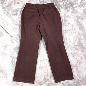 New 🛍 Croft & Barrow Stretch Khakis 14 30x27